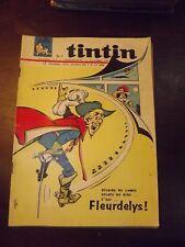 le journal de TINTIN N°907 de 1966 - FLEURDELYS