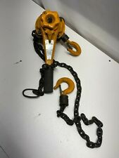 Lever Chain Hoist 34 Ton 1650 Lb Capacity Central Machinery Chain Hoist S33001