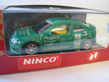 NINCO  50146 RENAULT MEGANE COPA #3 GREEN   MINT BOXED DELETED BNIB