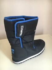 CAMPRI BLACK BLUE MEN /BOYS/GIRLS/MEN/WOMEN SNOW BOOTS SIZE 5