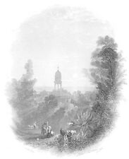 Greece KALIGATA KEFALONIA CEHPAHONIA IONIAN ISLAND ~ 1841 Art Print Engraving