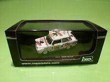 IXO 1:43 - TRABANT P 601 - 125 RALLY MONTE CARLO 1995 - RAC059  - IN  BOX