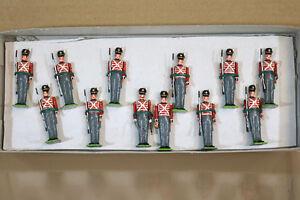 LITTLE WARS 277 NAPOLEONIC WARS 1st FOOT GUARDS The GRENADIERS 1815 WATERLOO nj