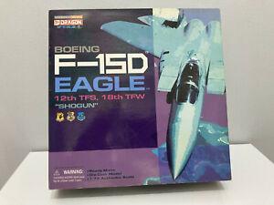 Dragon Warbirds Boeing F-15D Eagle 12th TFS 18th TFW Shogun 1:72 scale