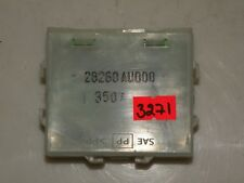 NISSAN PRIMERA P12 2004 1.8 PETROL LHD CONTROL UNIT MODULE 28260AU000