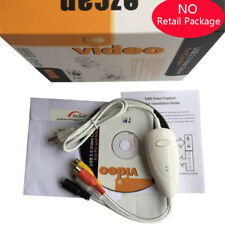 Genuine EzCAP 1568 USB 2.0 Video Audio VHS to DVD Converter Capture Win10 MAC OS