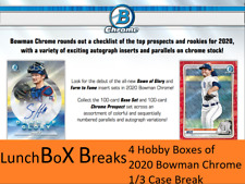 St. Louis Cardinals 4 Hobby Boxes 2020 Topps Bowman Chrome #4