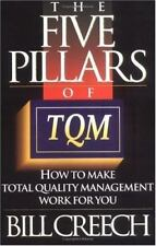 The Five Pillars of TQM: How to Make Total Quality Management Work for You (Trum