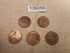 Higher Grade Partial Date Set Great Britain Farthings Nice Coins - # 139356