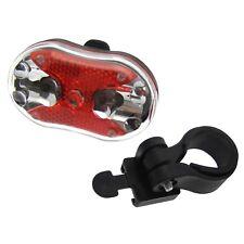 9 Powerful LED Rear Bicycle Light Mountain Bike Road Lamp Lights Reflector AA