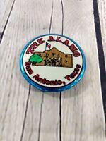 "Vintage The Alamo San Antonio Texas Pinback Badge Button Pin Souvenir 2"""