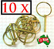"10 x 4.5 mm 3/16"" Lynch Linch Pin Locking Tractor Implement Trailer Caravan RV"
