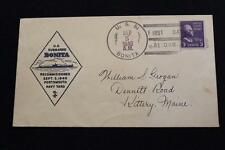 NAVAL COVER 1940 SHIP CANCEL RECOMMISSIONED USS BONITA (SS-165) (409)