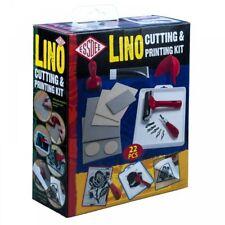 Essdee Lino Cutting Printing 23 Pieces Kit/ Gift Set
