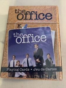 New & Sealed The Office Dunder Mifflin Paper Company Playing Cards Deck