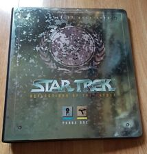 Star Trek Reflections of the Future Phase One Binder and Base Set of 100 cards