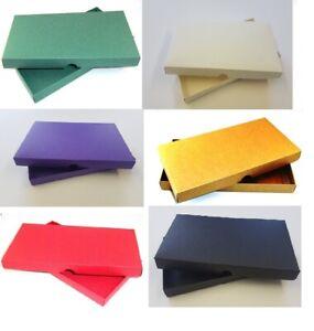 DL Gift Box / Greeting Card Box / Wedding Invites - 6 Colours - Choose Qty