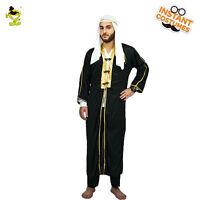 Adult Men's Stage Performances Halloween Party Dress Arab Kings Costume