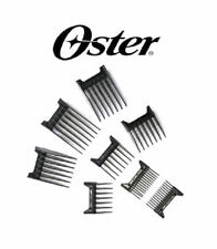 Oster Clip On Guide Guard Combs 8 pc Set for FAST FEED,SPEED LINE CLIPPER Blade