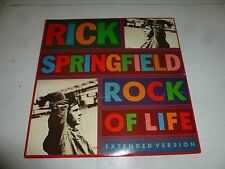 "RICK SPRINGFIELD - Rock Of Life - 1988 Uk 3-track 12"" Vinyl Single"