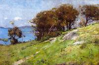 Arthur Streeton, Cremorne Pastoral 1895, Fade Resistant HD Art Print or Canvas