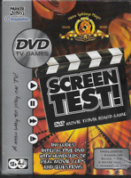 SCREEN TEST DVD MOVIE TRIVIA BOARD GAME MGM (PARKER IMAGINATION) 2004 NEW/SEALED