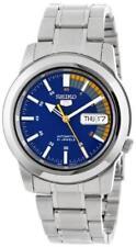 Seiko 5 Automático Azul Velocímetro Cuadrante Reloj para hombres SNKK 27K1