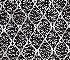 White Black Damask 2 Pillowcases - 20in. x 30in.