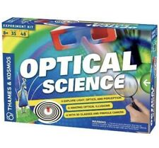 Thames and Kosmos Optical Science Experiment Kit (665005): 2012 Edition, Ages 8+