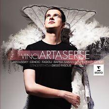 Vinci Artaserse Leonardo Vinci Concerto Koln Diego Fasolis 3 CD 1696-1730 - NEW