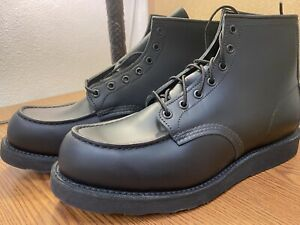 Red Wing Work Boots All Blacked Out 8137 Factory Seconds. NIB Never Worn 11D