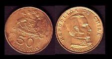 ★★ CHILI / CHILE ● 50 CENTESIMOS 1971 ● E3 ★★