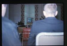 1963 Photo slide Television TV set on  President John F. Kennedy JFK funeral #4