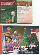 "#12.500# ALDI – 40 TRADING CARD ""TOM & JERRY – Crazy Christmas Fun"""