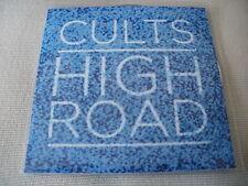 CULTS - HIGH ROAD - UK PROMO CD SINGLE