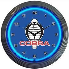 AC Cobra Neon Clock - Ford - Carroll Shelby - 427 - British - Daytona Coupé