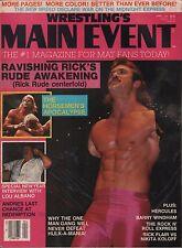 Wrestling's Main Event April 1988 Rick Rude, Lex Luger, Lou Albano VG 011916DBE