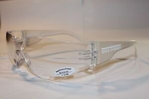 4 Pairs x Bifocal Clear  Safety Glasses Shaterproof UV100  Workwear  +1.50