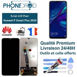 Écran complet LCD + tactile Huawei P Smart Plus 2019 Noir + Outils, stock FR