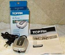 NEW! Top Fin Air Pump Air-1000  Up to 10 Gallons Aquarium