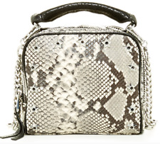 Ash Snake Skin Leather Crossbody handbag NEW $245value