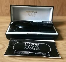 Olympus XA2 Point & Shoot 35mm Compact Film Camera with A16 flash. With Orig Box