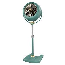 Vornado Pedestal Fan Vintage Antique Design Multi Direction Air Circulator Green