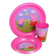 Disney Peppa Pig Plastic Kitchen & Dining Items for Children