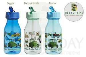 Tractor Ted Children's Water Bottle - Available in three different designs