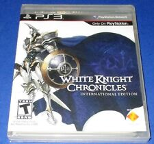 White Knight Chronicles -- International Edition PS3 *New *Sealed *Free Ship!