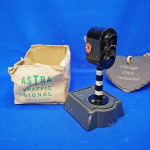 Vintage ASTRA PHAROS Model * THREE LIGHT TRAFFIC SIGNAL * Rare 1940s GC