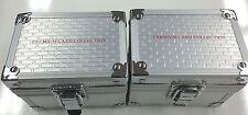 Alluminium 150 Card Set premium Storage Box x 2 - 150 Trading Card set