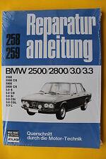 BMW E3 / E9 2500 2800 3.0 / 3.3  CS SI Csi ab 1968 Reparaturanleitung Handbuch