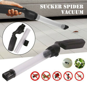 Powerful Handheld Bug Vacuum Insect Spider Pest Bee Catcher With LED Light Tool